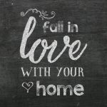 Happy Valentine's Day ~ Home is where the heart is ~